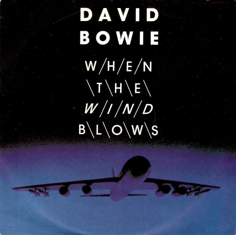 DAVID BOWIE When The Wind Blows Vinyl Record 7 Inch Virgin 1986